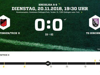 Spfr Dettingen II - TG Kirchheim