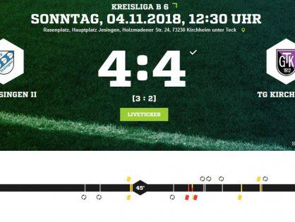 TSV Jesingen II - TG Kirchheim