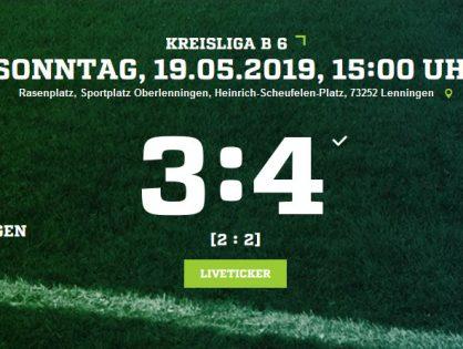 TSV Oberlenningen - TG Kirchheim